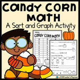 Halloween Candy Corn Math Sorting and Graphing Activity