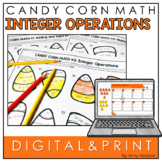 Candy Corn Integer Order of Operation Practice