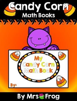 Halloween Candy Corn Math Book Activity