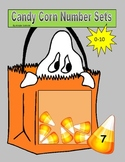 Halloween Candy Corn Math Counting Number Sets Matching Game 0-10