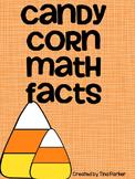 Halloween Candy Corn Math Fact Activities