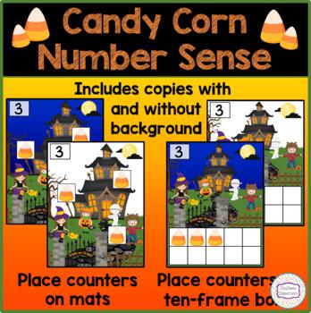 Halloween Candy Corn Number Sense