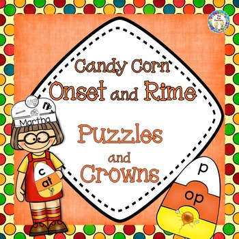 Halloween Literacy Center Activities   Onset and Rime   Word Families