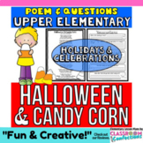 Candy Corn Activity: Halloween Reading and Questions (poem)