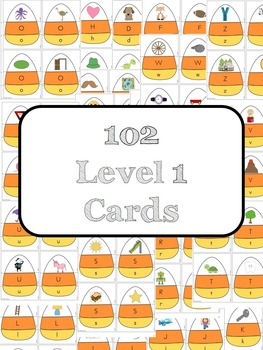 Halloween Letter Matching and Sounds Game