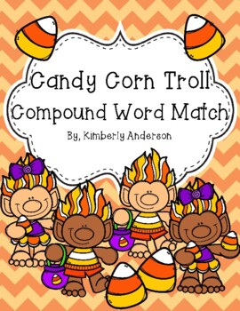 Halloween: Candy Corn Trolls Compound Word Match