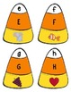 Halloween Candy Corn Upper/Lowercase Letter & Sound Match