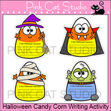 Halloween Activities Candy Corn Writing Activity and Bulletin Board Decorations