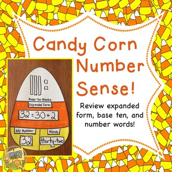Halloween - Candy Corn with Number Sense!  Grades 1 - 3