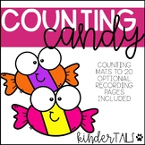 Halloween Candy Counting Mats