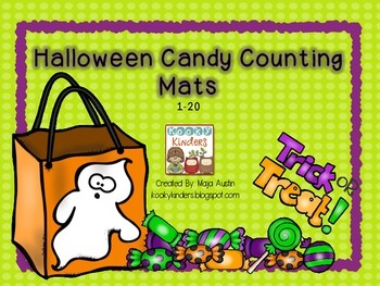 Halloween Candy Counting Mats 1-20