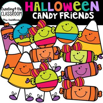 Halloween Candy Friends {Halloween Clip Art}