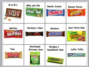 Halloween Candy Games