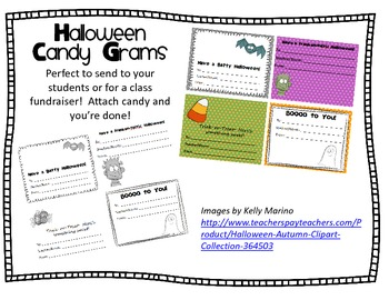 Halloween Candy Grams