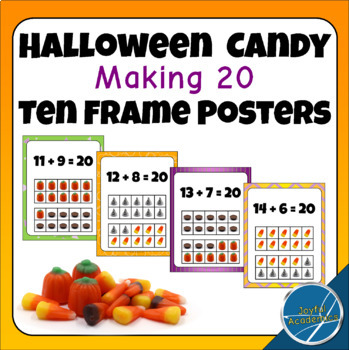 Halloween Candy Making 20 Ten Frame Posters
