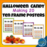 Halloween Candy Ten Frame Making 20 Posters
