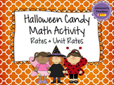 Halloween Candy Math Activity (Rate, Unit Rate & Proportions)