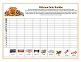 Halloween Candy Math Graphing and Math Questions