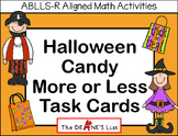 Halloween Candy More or Less Task Cards