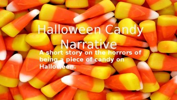 Halloween Candy Narrative Planning Template