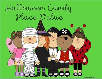 Halloween Candy Place Value