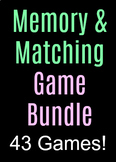Large 43 Memory/Matching Game Bundle!