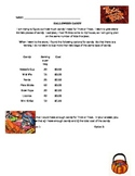 Halloween Candy Problem Solving