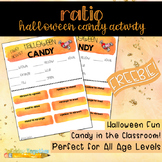 Halloween Candy Ratio Activity