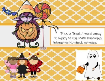 Halloween Candy Ready to Go Math Activities