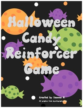 Halloween Candy Reinforcer Game