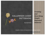 Halloween Candy Repeating Patterning Activity/Practice