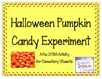 Halloween Candy STEM Experiment