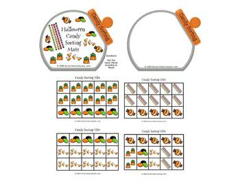 Halloween Candy Sorting Activity