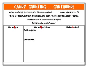 Halloween Candy Sorting Problem Solving