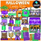 Halloween Candy Store Clip Art Set {Educlips Clipart}