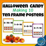Halloween Candy Ten Frame Making 10 Posters