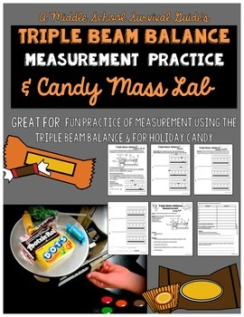 Triple Beam Balance Practice and Candy Lab