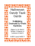 Halloween Candy Word Problems- Multiplying Decimals by Whole Numbers