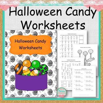 Halloween Candy Worksheets