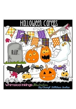 Halloween Capers Clipart Collection
