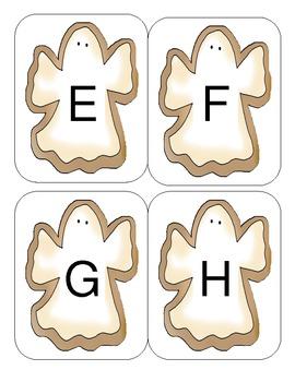 Halloween Capital Alphabet Flash Cards