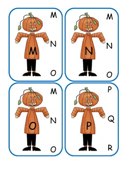 Halloween Capital to Capital Clip Cards
