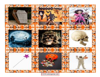 Halloween Card Game