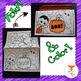 Halloween Cards Foldable Craft and Coloring Printable