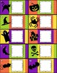 Halloween Cards and Worksheet Printables *EDITABLE*