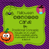 Halloween Cariboo Cards - Spatial Concepts