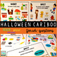 Halloween Cariboo for WH- questions {plus teaching materials}
