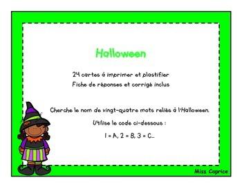Code ABC - Halloween