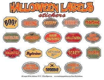 Halloween Cartoon Clipart SUPER BUNDLE