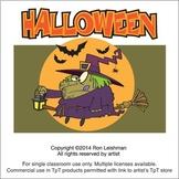 Halloween Cartoon Clipart Vol. 1